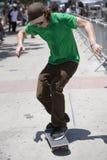 4溜冰板者 免版税库存图片