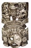 4玛雅的屏蔽 免版税库存图片