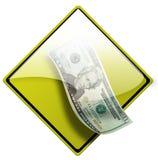 4现金图标货币 库存照片