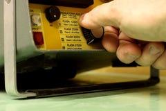 4电气设备测试 库存照片