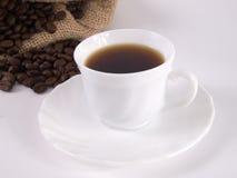 4粒豆coffe咖啡 免版税库存图片