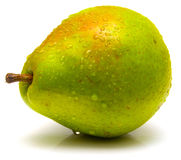 4绿色梨 免版税库存照片