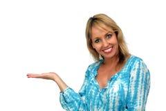 4美丽的白肤金发的女招待 图库摄影
