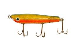 4老钓鱼的诱剂 免版税图库摄影