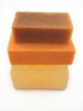 4自然肥皂 库存照片