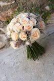 4花束婚礼 图库摄影