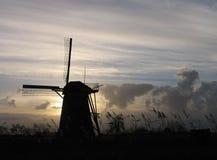 4荷兰语风车 免版税库存照片