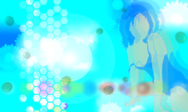 4蓝色导致 免版税库存照片