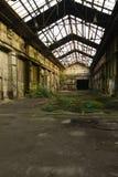 4被放弃的工厂 免版税库存图片