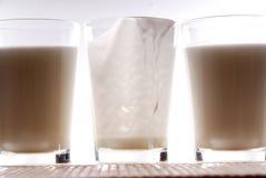 4酸奶 库存照片