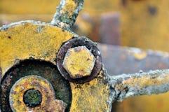 4金属废料 库存照片