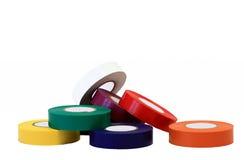 4颜色每个磁带 库存图片