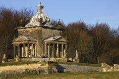 4风的寺庙-城堡霍华德-英国 库存照片