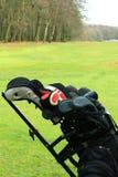 4高尔夫球 免版税库存图片