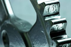 4齿轮 免版税图库摄影
