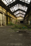 4 övergiven fabrik Royaltyfri Bild