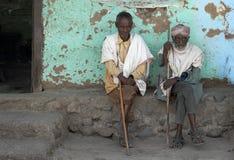 4 αιθιοπικοί άνθρωποι Στοκ εικόνες με δικαίωμα ελεύθερης χρήσης