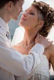 4 ακριβώς παντρεμένος Στοκ Φωτογραφίες