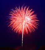4$α πυροτεχνήματα Ιούλιος Στοκ Φωτογραφίες