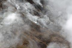 4 γεωθερμικά κανένας ατμός Στοκ Εικόνα