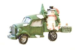4 δέντρα πώλησης Χριστουγέννων Στοκ Φωτογραφίες