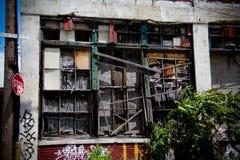 4 εγκαταλειμμένο εργοσ&ta Στοκ Φωτογραφία