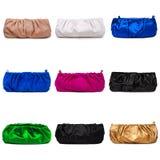 4 θηλυκά πολύχρωμα πορτοφόλια Στοκ εικόνες με δικαίωμα ελεύθερης χρήσης