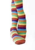 4 κάλτσες στοκ εικόνες