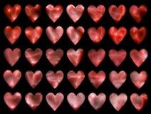 4 καρδιές Στοκ φωτογραφία με δικαίωμα ελεύθερης χρήσης