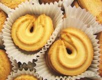 4 μπισκότα κιβωτίων Στοκ εικόνα με δικαίωμα ελεύθερης χρήσης