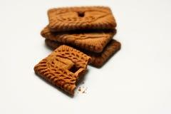 4 μπισκότα Στοκ Εικόνα