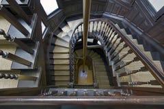 4 παλαιά σκαλοπάτια σπιτιώ&nu Στοκ φωτογραφία με δικαίωμα ελεύθερης χρήσης