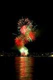 4 πυροτεχνήματα Στοκ φωτογραφία με δικαίωμα ελεύθερης χρήσης