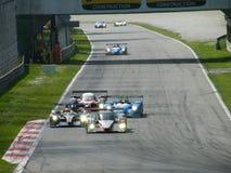 4 σειρές monza του Le Mans Στοκ Εικόνα