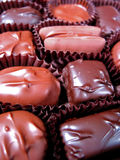 4 σοκολάτες κιβωτίων στοκ εικόνα