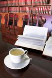 4 φλυτζάνι καφέ νομικό Στοκ Εικόνα