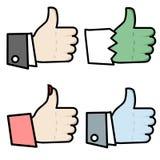 4 χέρια όπως απεικόνιση αποθεμάτων