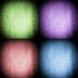 4 абстрактных установленной предпосылки Стоковое фото RF