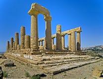 4 античных руины Стоковое Фото