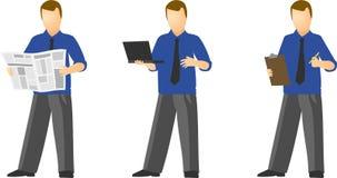 4 бизнесмены Стоковые Фотографии RF