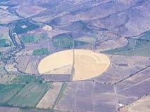 4 воздушных серии ландшафта земледелия Стоковые Изображения RF