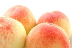 4 всех персика Стоковые Изображения RF