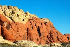 4 горы пустыни Стоковое Фото