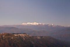 4 горы Сикким Стоковое фото RF