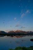 4 горы Стоковые Изображения