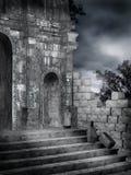 4 готских руины иллюстрация штока