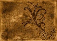 4 декоративных цветка Стоковая Фотография