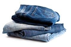 4 джинсыа различного Стоковые Изображения