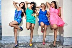 4 друз женщин Стоковое Фото
