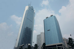 4 здания корпоративного Стоковая Фотография